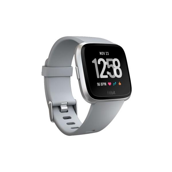 Fitbit fb505rgy versa smartwatch deportivo silver