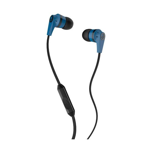 Skullcandy inkd 2 blue black auriculares de botón in-ear con cable y micrófono