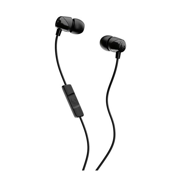 Skullcandy jib black auriculares de botón in-ear con cable y micrófono
