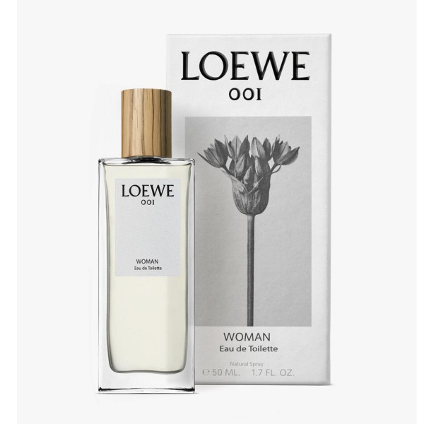 Loewe 001 woman eau de toilette 50ml vaporizador