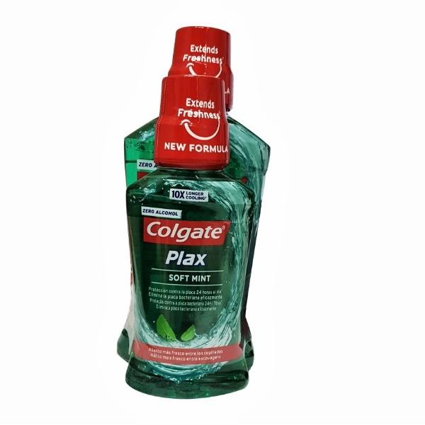 Colgate Plax Elixir Soft Mint 500+250 ml
