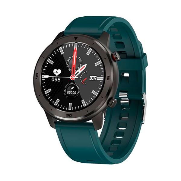 Innjoo voom sport verde smartwatch 1.3'' ips bluetooth frecuencia cardíaca y sueño ip68