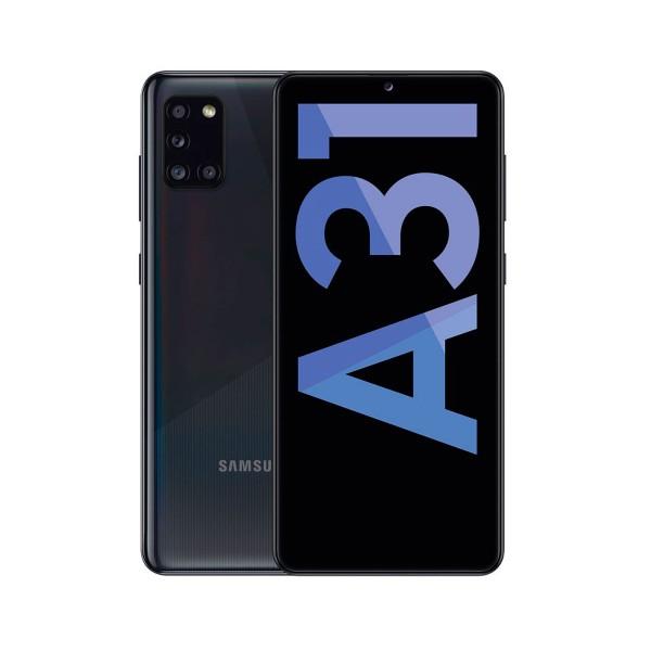 Samsung a31 black móvil 4g dual sim 6.4'' samoled fhd+/8core/64gb/4gb ram/48+8+5+5mp/20mp