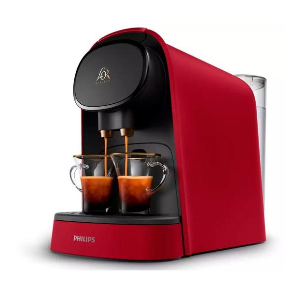 Philips l'or barista roja cafetera de cápsulas l'or doble carga automática