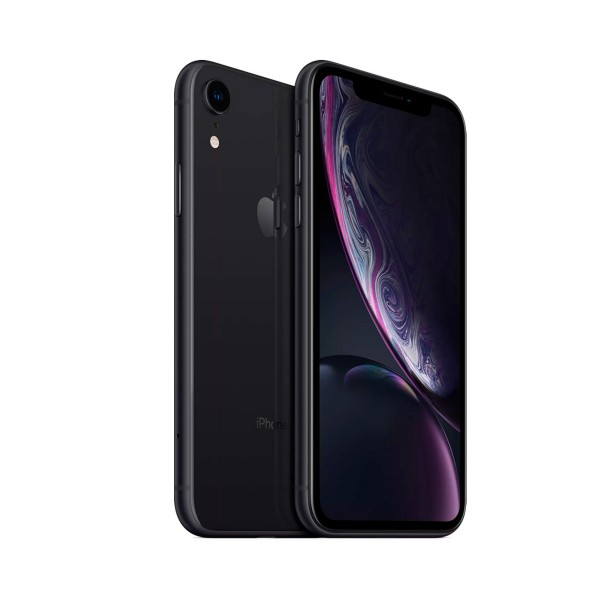 Apple iphone xr 64gb black reacondicionado cpo móvil 4g 6.1'' liquid retina hd led hdr/6core/64gb/3gb ram/12mp/7mp